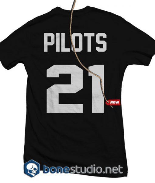 JRSY Twenty One Pilots Band T Shirt