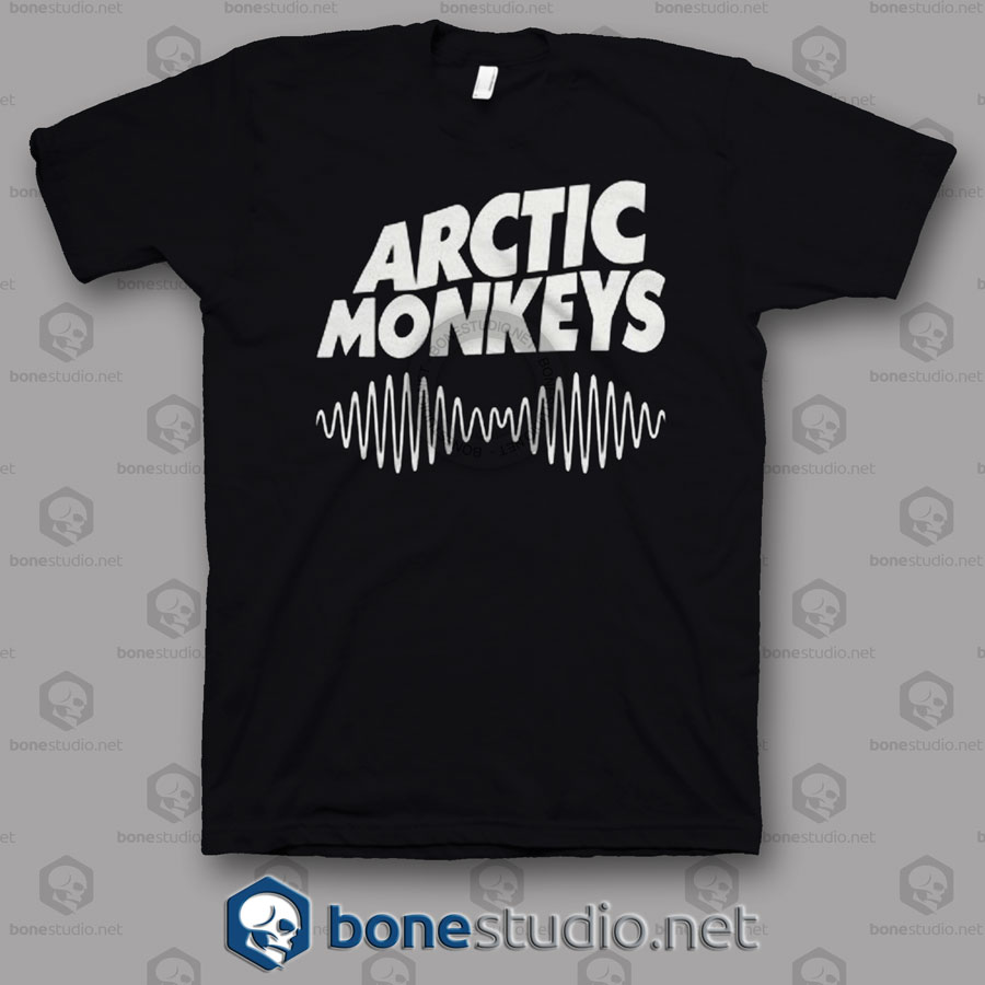 Am Logo Arctic Monkeys Band T Shirt