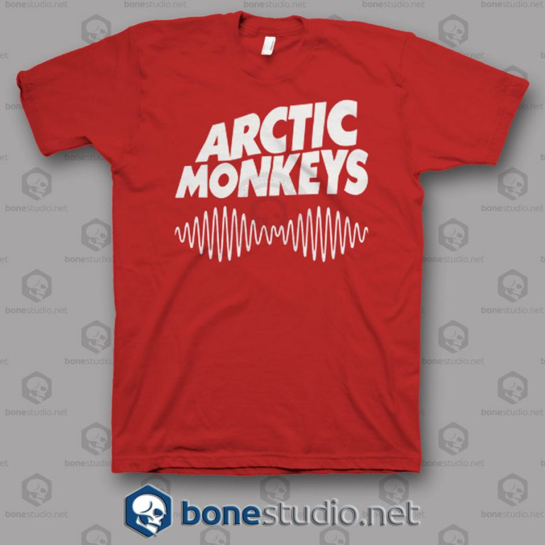 Am Logo Arctic Monkeys Band T Shirt