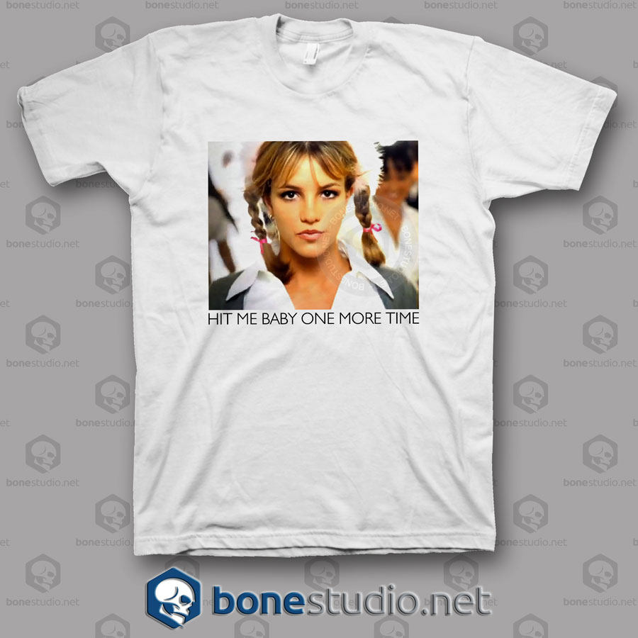Baby One More Time Britney Spears Band T Shirt