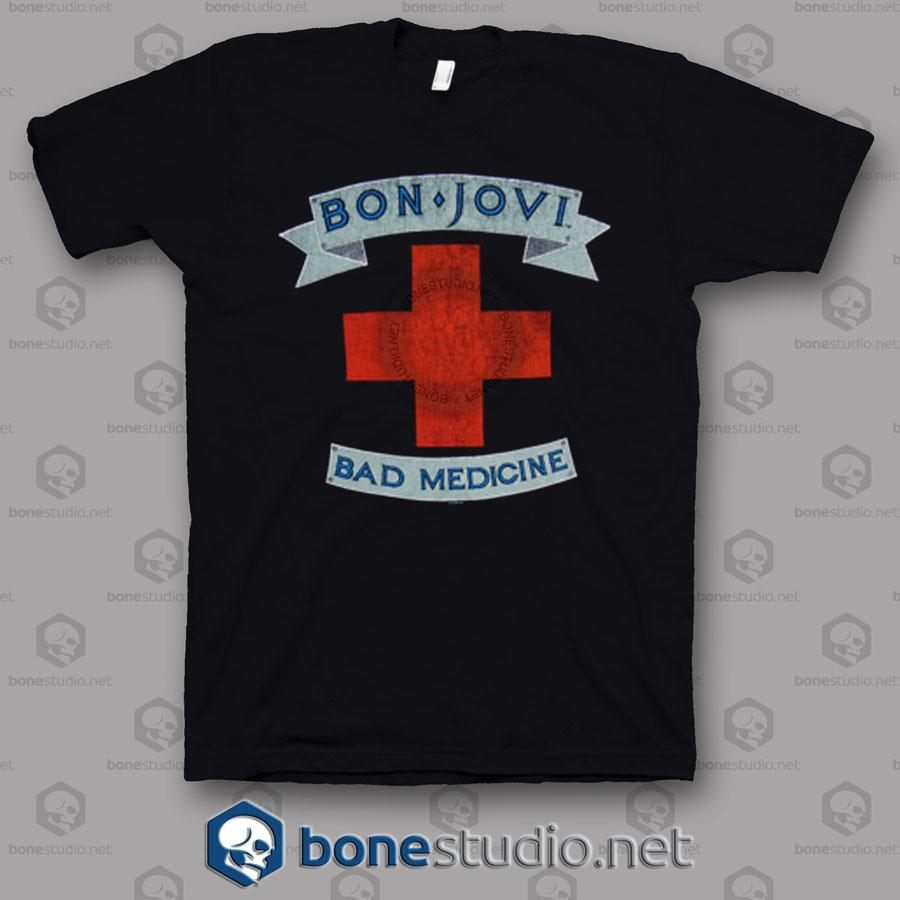 Bad medicine Bon Jovi Band T Shirt