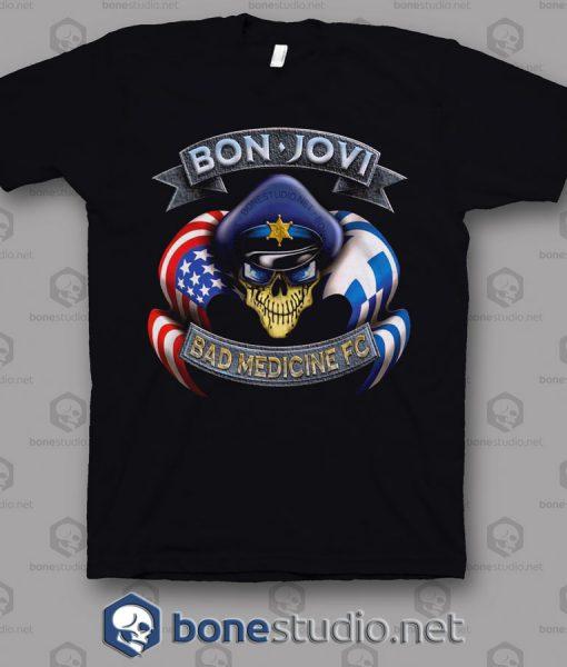 Bad medicine Fc Bon Jovi Band T Shirt