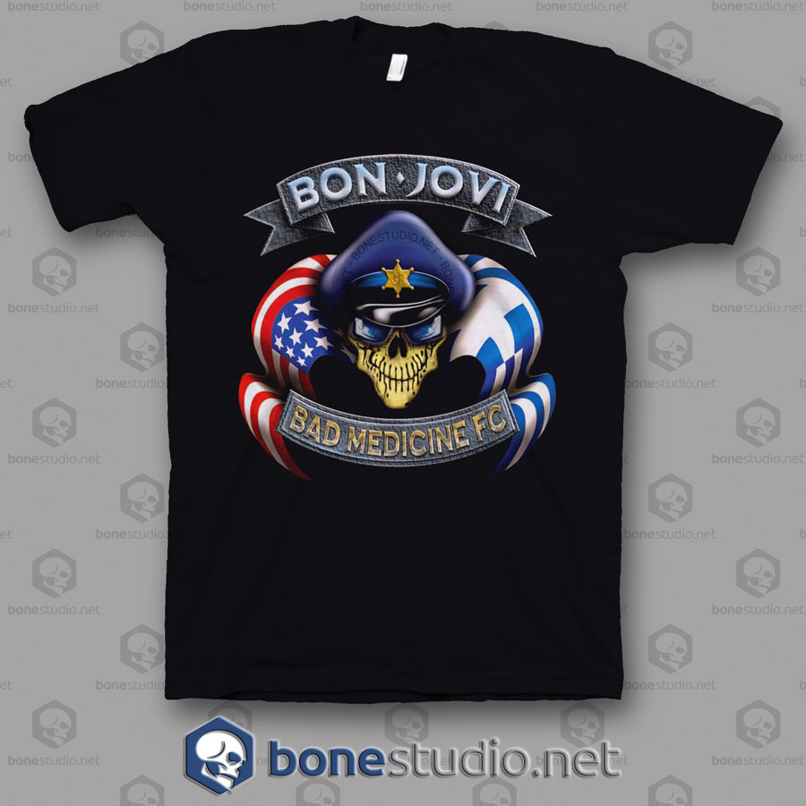 Bad medicine Fc Bon Jovi Band T Shirt