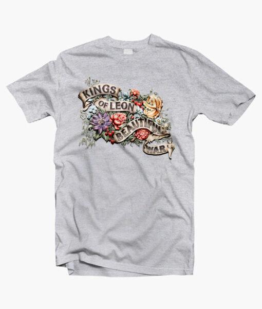 Beautiful War Kings Of Leon Band T Shirt