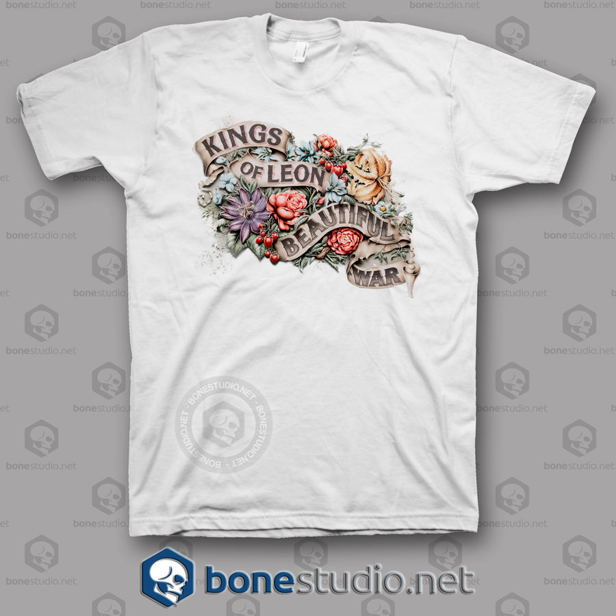 Beautiful War Kings Of Leon Band T Shirt