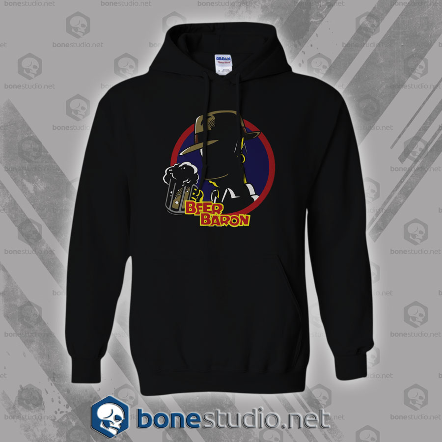 Beer Baron Homer Simpson Style Hoodies