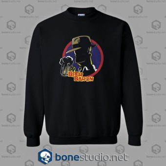 Beer Baron Homer Simpson Style Sweatshirt
