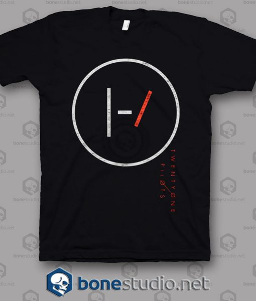 Big Circle Twenty One Pilots Band T Shirt