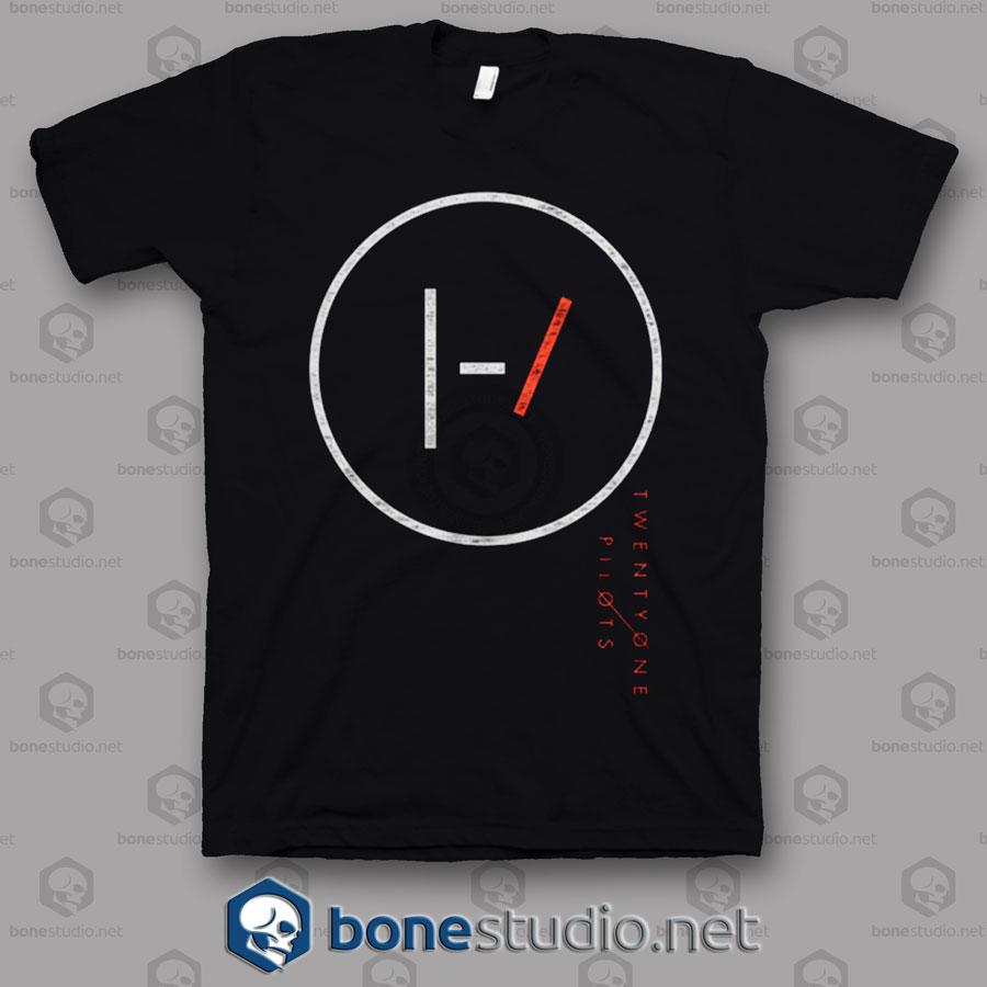 Big Circle Twenty One Pilots Band T Shirt
