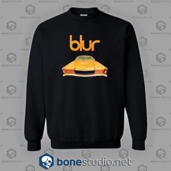 Blur In Concert Pus Special Guest Band Sweatshirt