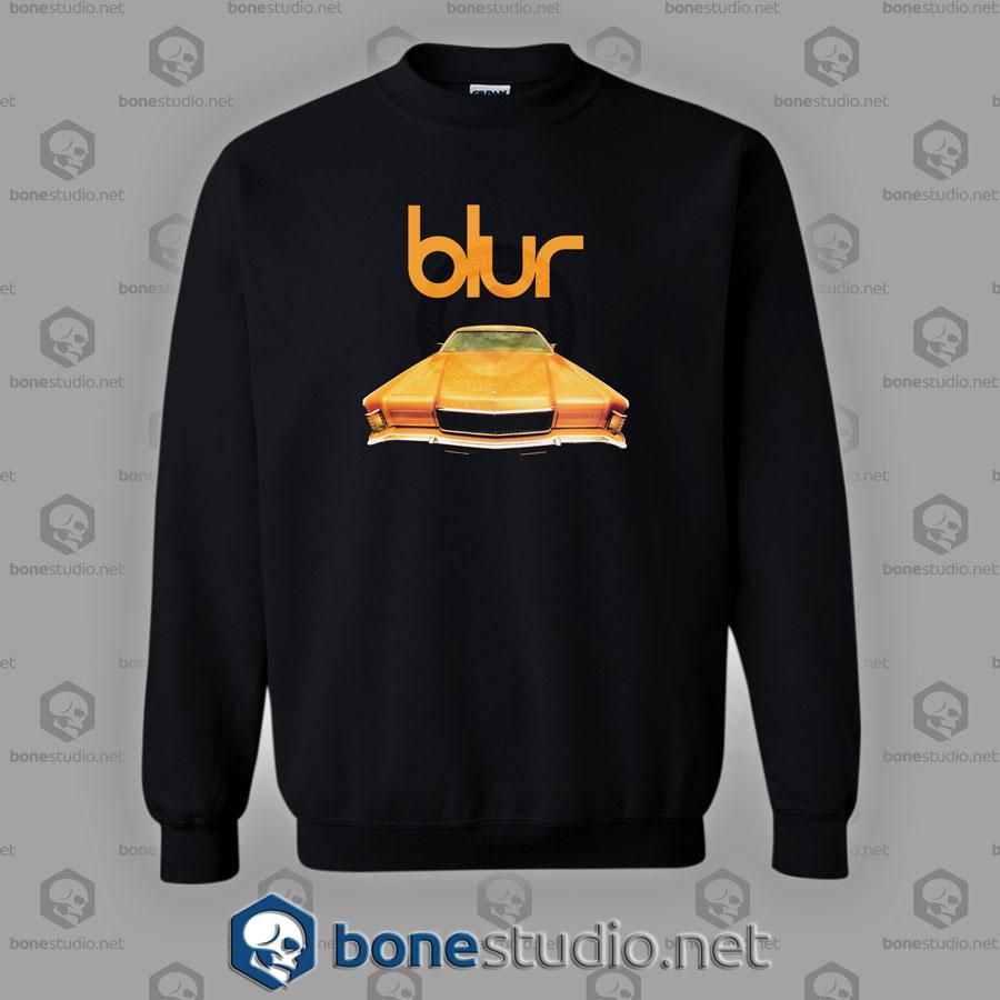 Blur In Concert Pus Special Guest Band Sweatshirt