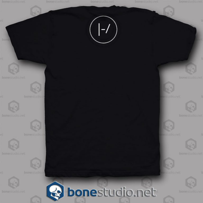 Blurryface Cd Twenty One Pilots Band T Shirt