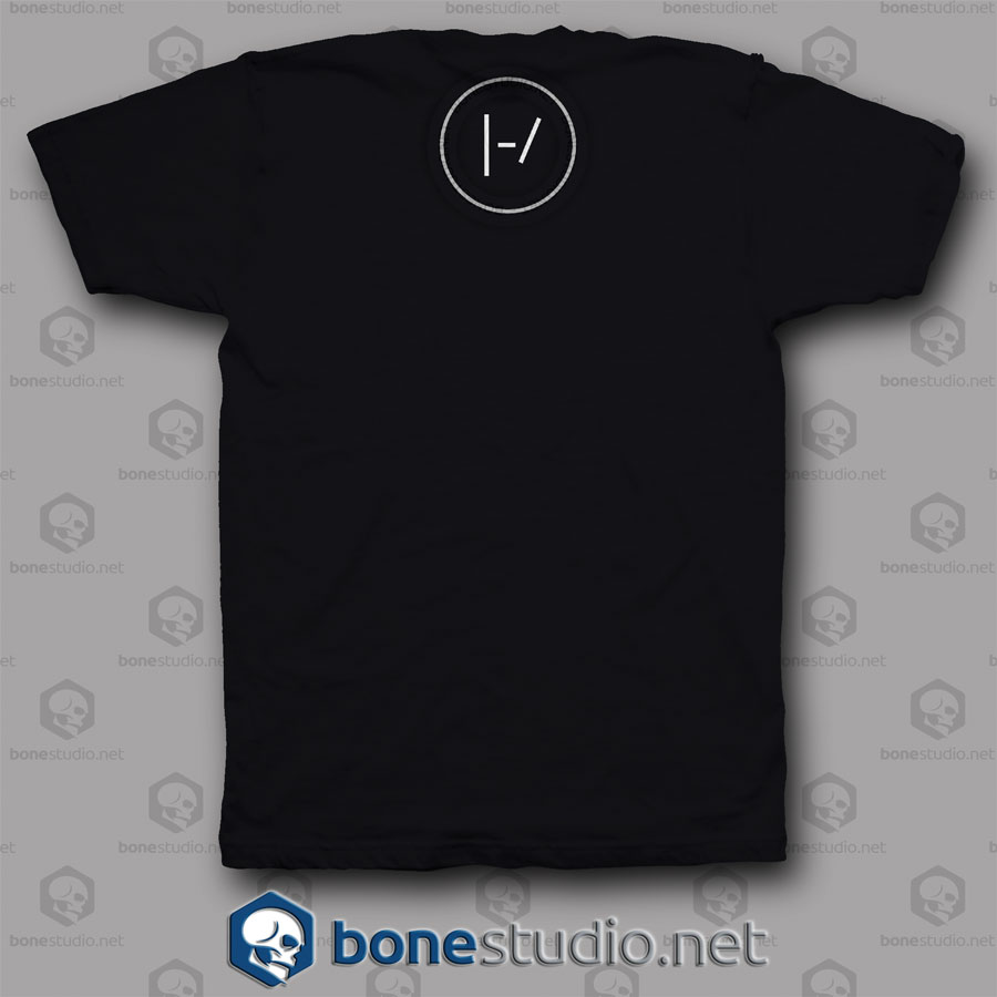 Blurryface Cd Twenty One Pilots Band T Shirt