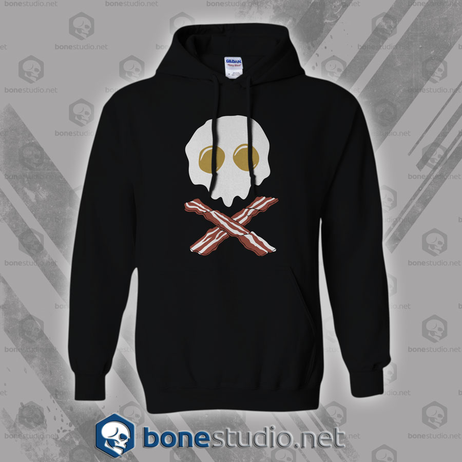 Breakfast Skull Hoodies