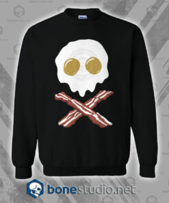 Breakfast Skull Sweatshirt