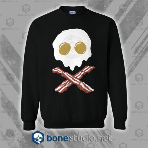 Breakfast Skull Sweatshirt