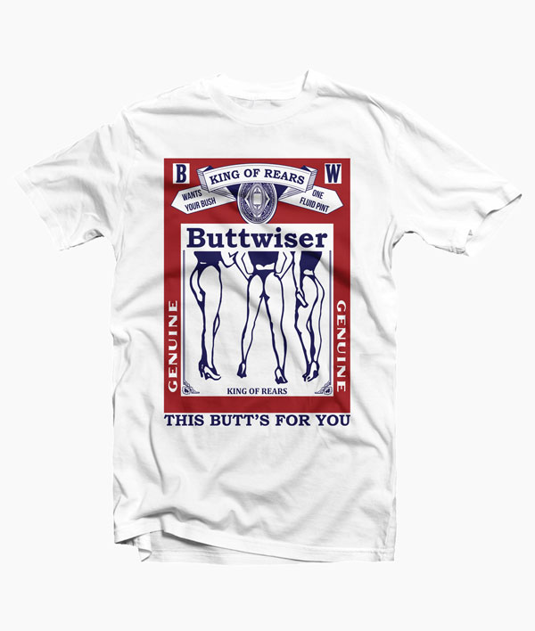 Buttwiser Lana Del Rey Ride T Shirt