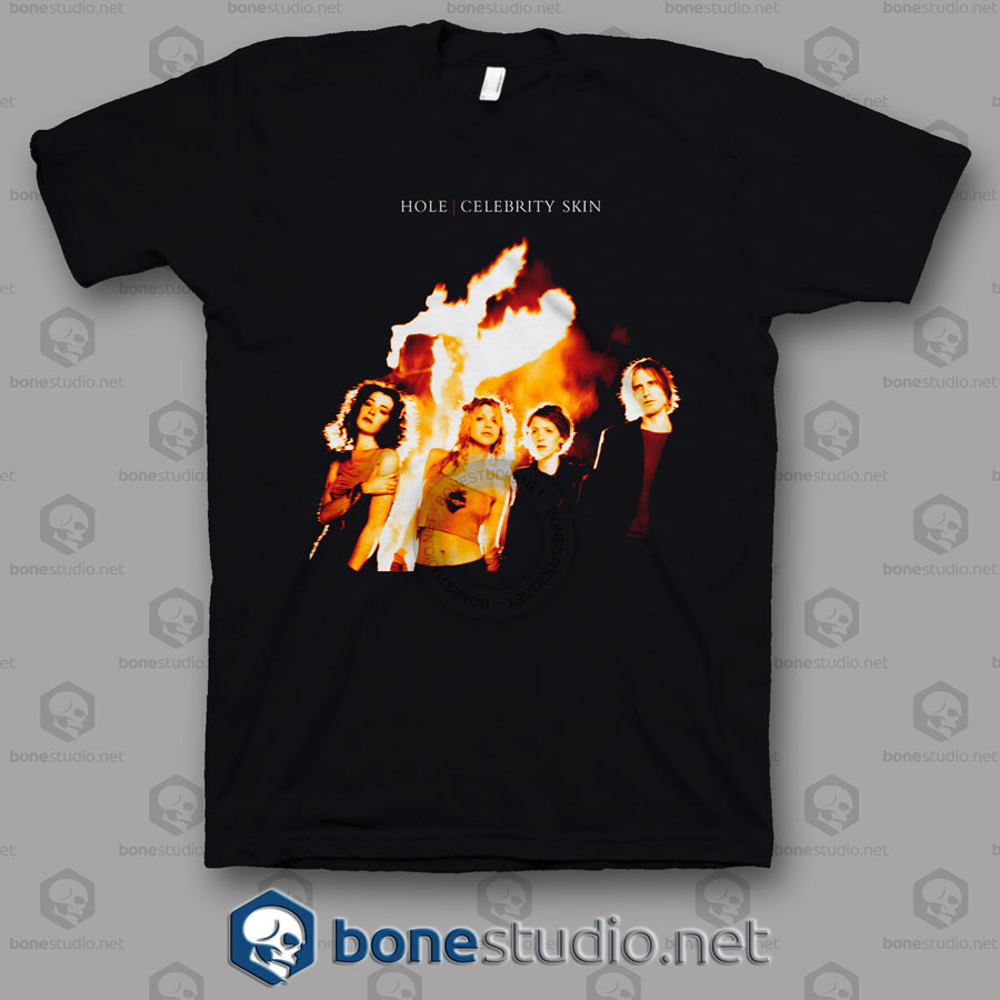 Celebrity Skin Hole Band T Shirt