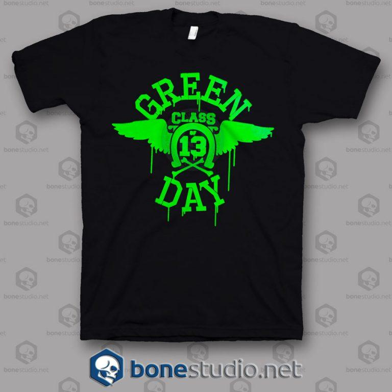 Class 13 Green Day Band T Shirt