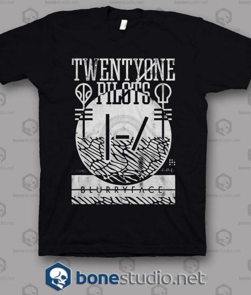 Collide Twenty One Pilots Band T Shirt