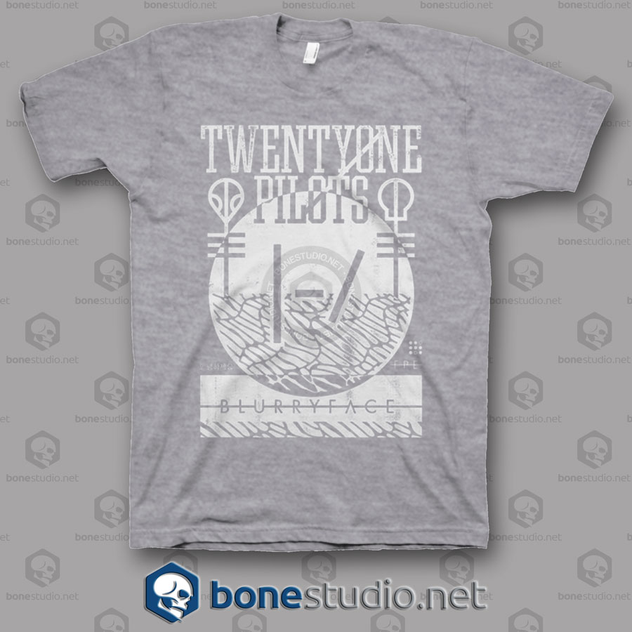 Collide Twenty One Pilots Band T Shirt