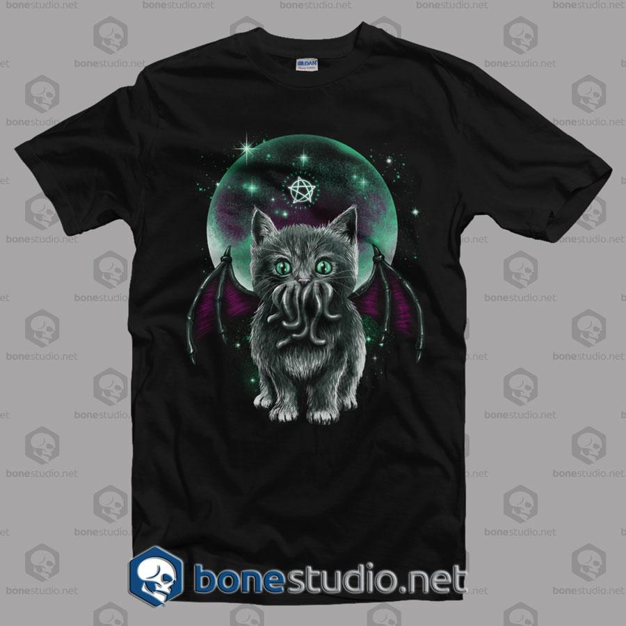 Cosmic Purrrcaft T Shirt