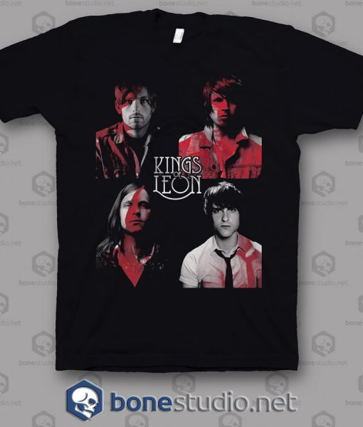 Cover Photo Kings Of Leon Band T Shirt