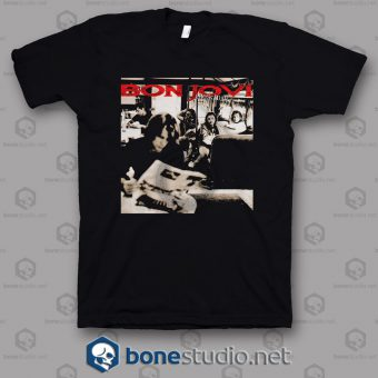 Cross Road Bon Jovi Band T Shirt