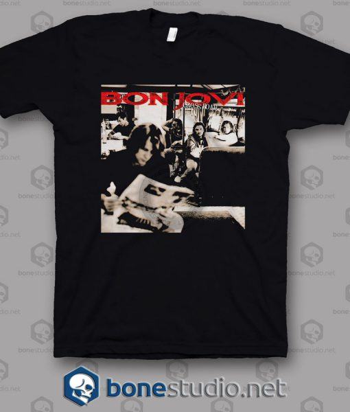 Cross Road Bon Jovi Band T Shirt