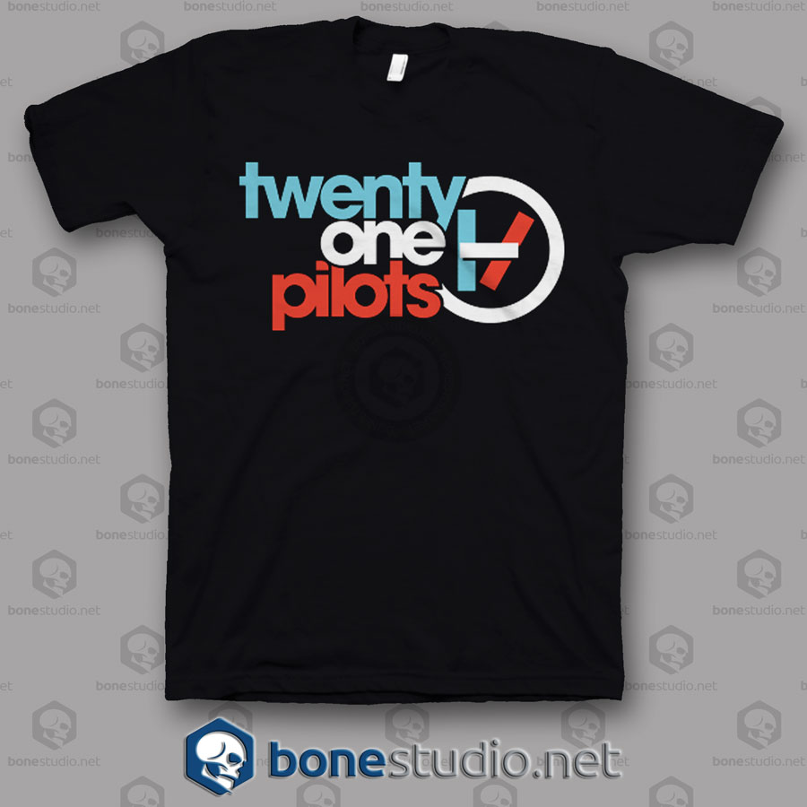 Cvr Logo Twenty One Pilots Band T Shirt