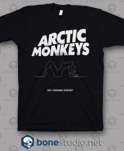 Do I Wanna Know Arctic Monkeys Band T Shirt