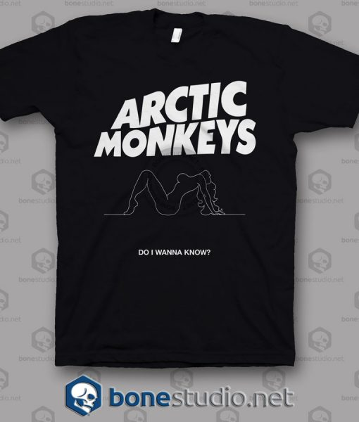 Do I Wanna Know Arctic Monkeys Band T Shirt