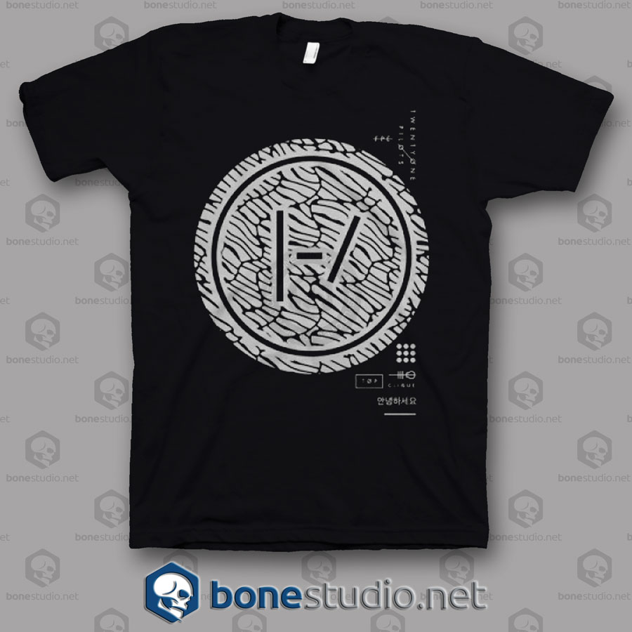 Doubt Dot Twenty One Pilots Band T Shirt
