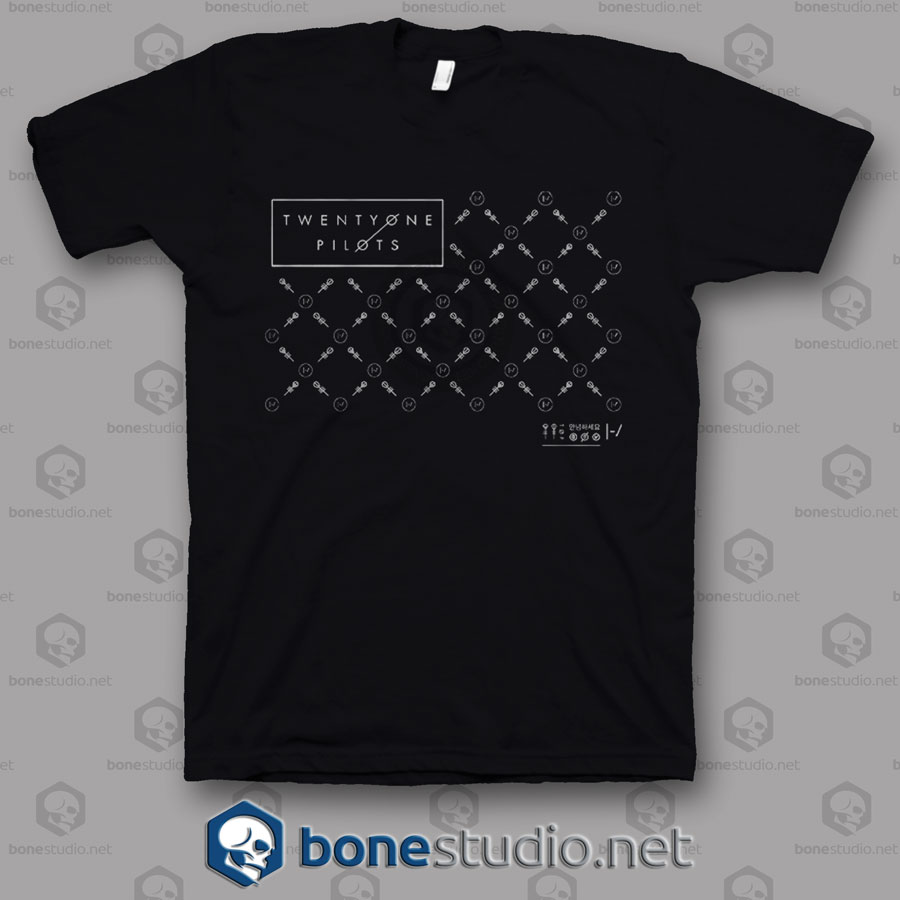 Fancy Twenty One Pilots Band T Shirt