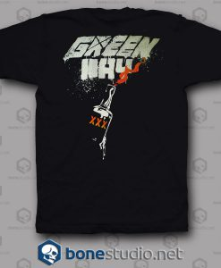 Flag Mask Green Day Band T Shirt