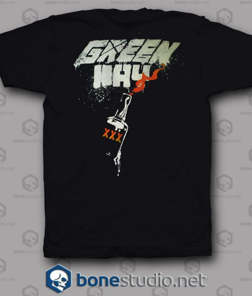 Flag Mask Green Day Band T Shirt