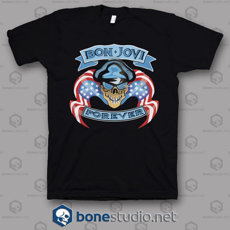Forever Bon Jovi Band T Shirt