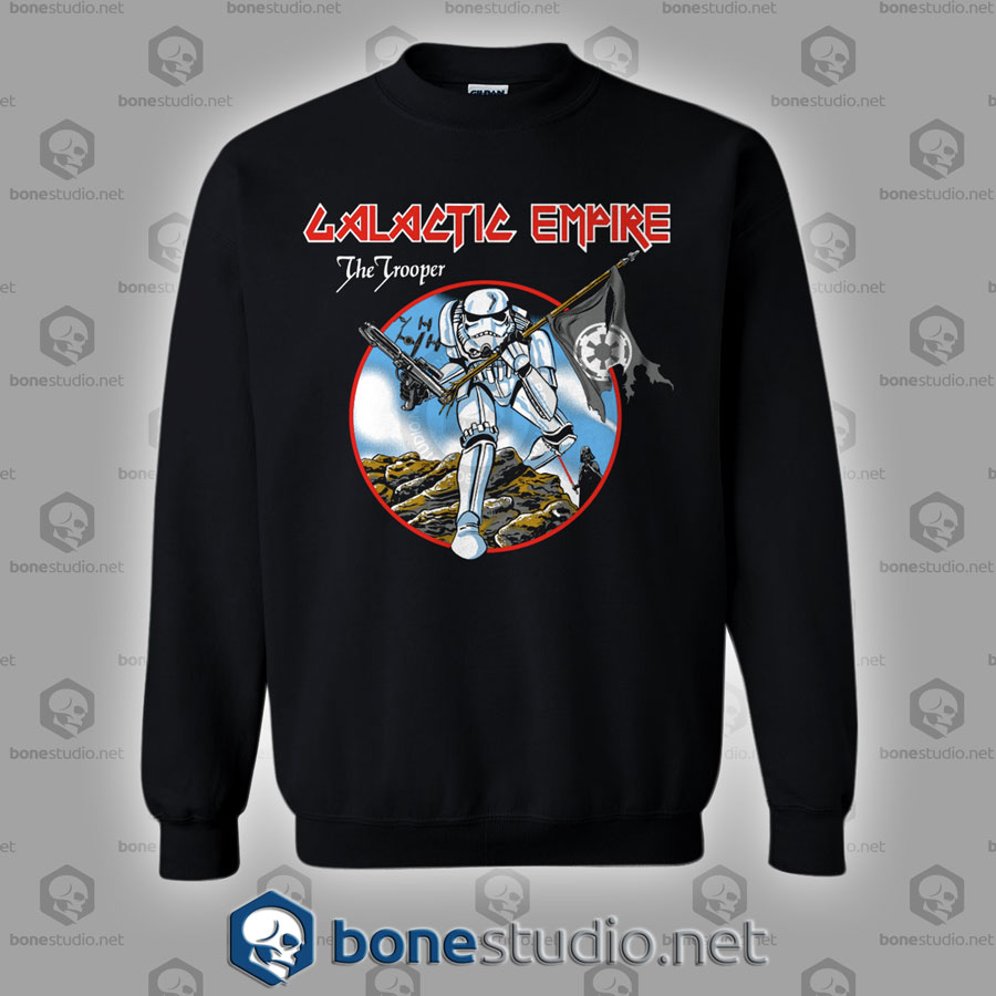 Galactic Empire The Trooper Star Wars Sweatshirt