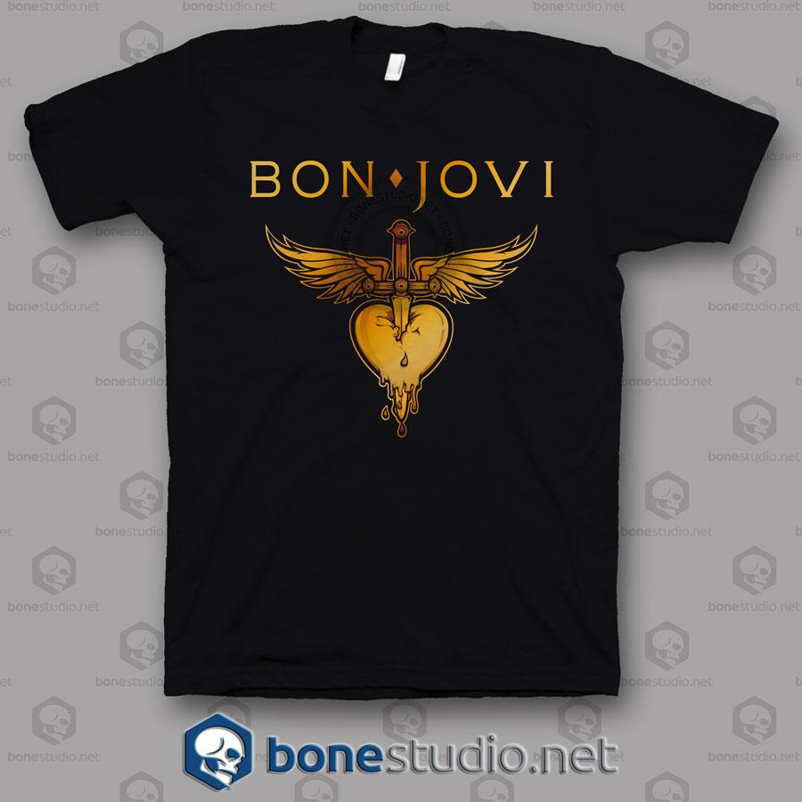 Greatest Hits Bon Jovi Band T Shirt