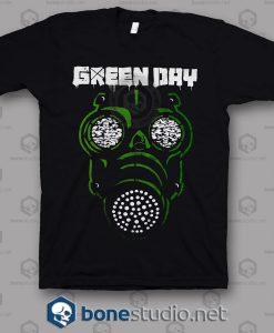 Green Mask Green Day Band T Shirt