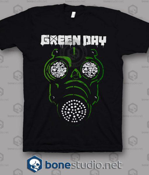 Green Mask Green Day Band T Shirt