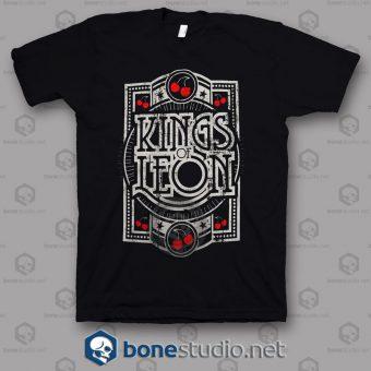 Grunge Kings Of Leon Band T Shirt