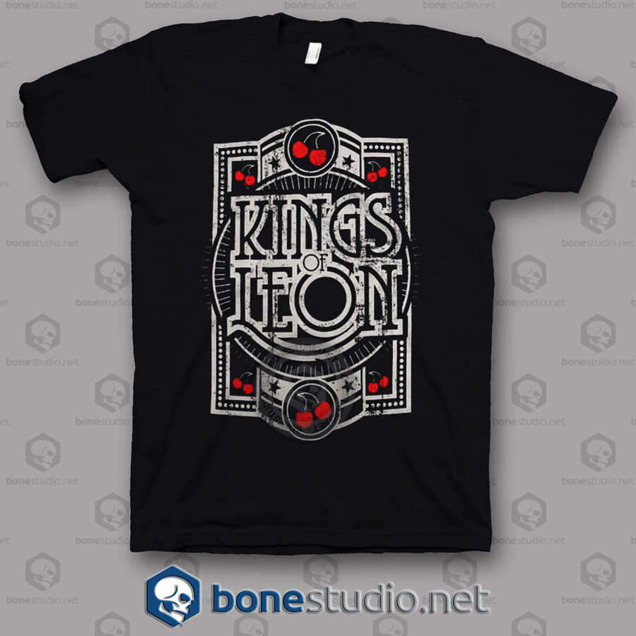 Grunge Kings Of Leon Band T Shirt