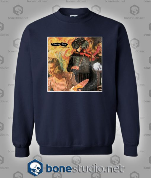 Insomniac Green Day Band Sweatshirt