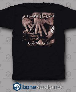 Keep The Faith Bon Jovi Band T Shirt