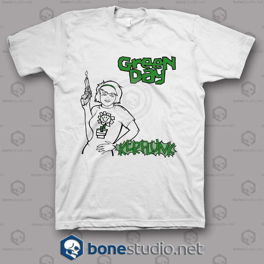 Kerplunk Green Day Band T Shirt