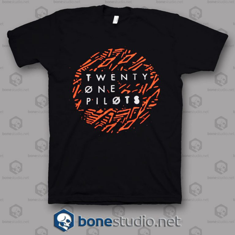 Lane Dot Twenty One Pilots Band T Shirt