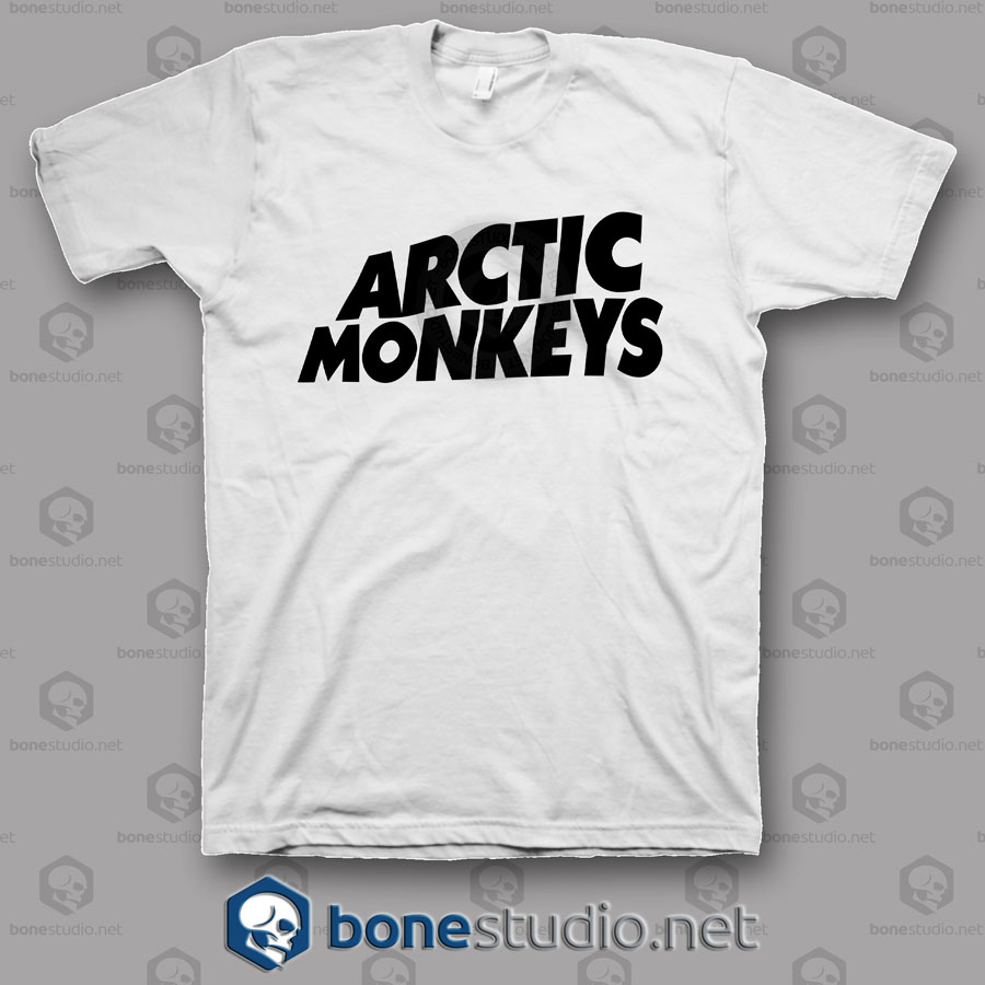 Logo Arctic Monkeys Band T Shirt