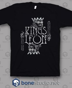 Logo Card Kings Of Leon Band T Shirt