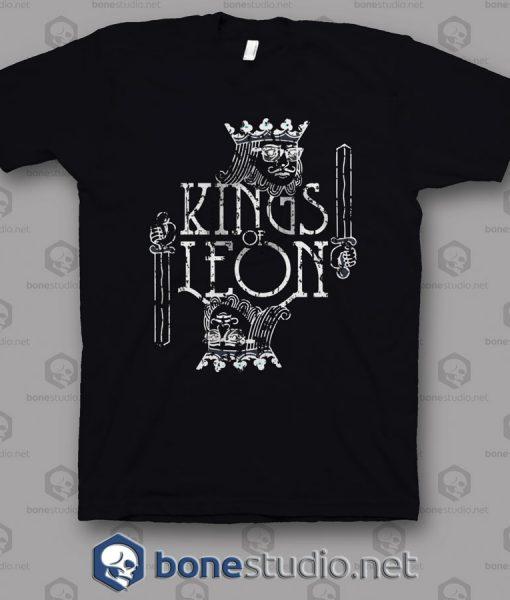 Logo Card Kings Of Leon Band T Shirt